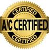 A/C CERTIFIED