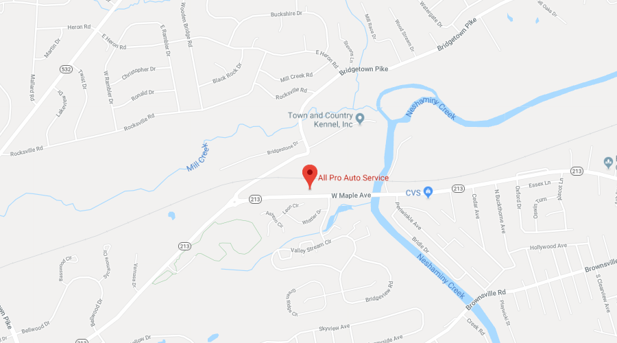 Google Map - 2620 West Maple Ave. • Langhorne, PA 19053