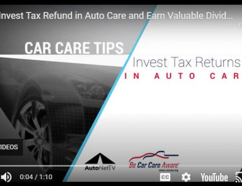 Invest Tax Refund in Auto Care and Earn Valuable Dividends